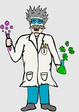 The Scientist Stock Images