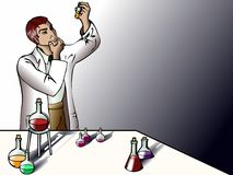 Scientist in the lab Stock Images