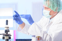 Scientist in lab Royalty Free Stock Photos