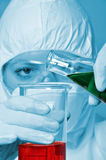 Scientist in a laboratory Stock Photos