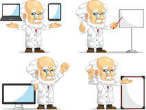 Scientist or Professor Customizable Mascot 14 Stock Photography