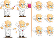 Scientist or Professor Customizable Mascot 11 Stock Photography