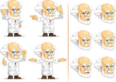 Scientist or Professor Customizable Mascot 12 Stock Images