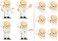 Scientist or Professor Customizable Mascot 13 Stock Images