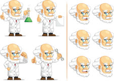 Scientist or Professor Customizable Mascot 2 Royalty Free Stock Photo