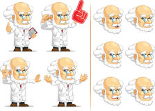 Scientist or Professor Customizable Mascot 4 Royalty Free Stock Images