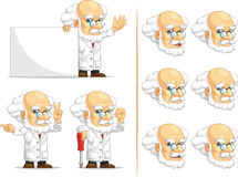 Scientist or Professor Customizable Mascot 5 Stock Image