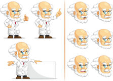 Scientist or Professor Customizable Mascot 6 Royalty Free Stock Photography