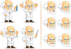 Scientist or Professor Customizable Mascot Stock Images