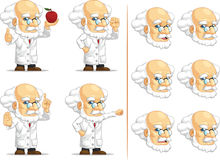 Scientist or Professor Customizable Mascot 9 Stock Images