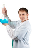 Scientist researching Stock Photos