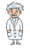 Scientist. Science Day. Vector illustration. Isolated on white background stock illustration