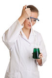 Scientist woman Royalty Free Stock Photography