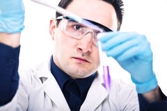 Scientist at work Stock Photography