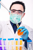 Scientist at work Stock Photos