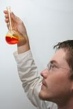 Scientist at work Royalty Free Stock Photo
