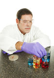 Scientist Working in Lab Royalty Free Stock Image