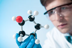 Scientist working at the laboratory Royalty Free Stock Photography