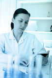 Scientist working at the laboratory. Stock Photography