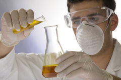 Scientist working in a laboratory Royalty Free Stock Photography