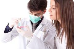 Scientists Stock Image