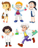 Scientists and doctors Royalty Free Stock Images