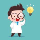 Scientists Got Idea Vector. Idea Concept With Character Design, Vector Illustration 10 EPS Stock Photos