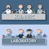 Scientists In Lab Stock Image