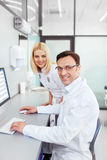 Scientists Royalty Free Stock Photo