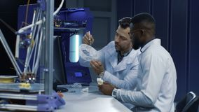 Scientists working on 3-D printing in medicine purposes