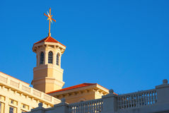 SCIENTOLOGY ARCHITECTURE. At sunset in Florida Royalty Free Stock Photography