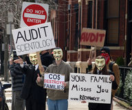 Scientology d'audit Photo stock