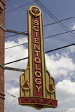Scientology Sign. Sign for Church of Scientology in Tampa Stock Images