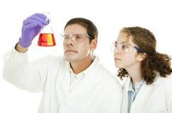 Scienza della High School Fotografia Stock