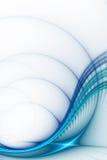 Scienza di affari o fondo astratta di tecnologia illustrazione di stock