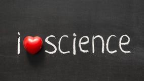 Scienza di amore Immagine Stock