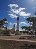 Scienza di razzo australiana del sud di entroterra Immagini Stock