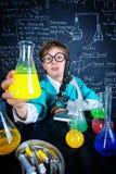 Scienza e bambini Immagini Stock