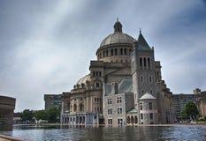 Scienza e centro christan a Boston fotografia stock libera da diritti