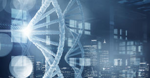 Scienza e ricerca di biochimica Immagini Stock Libere da Diritti