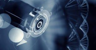 Scienza e ricerca di biochimica Media misti Fotografia Stock