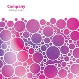 Scienza e ricerca - struttura molecolare - fondo astratto Immagine Stock