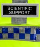 Scienza legale della polizia Fotografie Stock