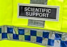 Scienza legale della polizia Immagini Stock