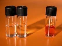 Scienza - selettività Fotografie Stock