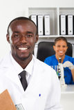 Scienziati africani Immagini Stock