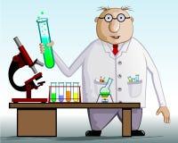 Scienziato illustrazione vettoriale
