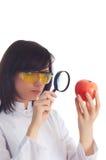 Scienziato femminile Immagine Stock