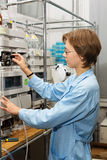 Scienziato, laboratorio 5 Fotografie Stock Libere da Diritti