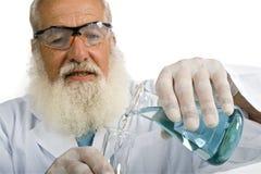 Scienziato in laboratorio Fotografia Stock Libera da Diritti